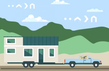 Přeprava a instalace mobilního domu